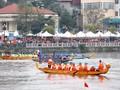 ハノイ ドラゴンボートレース2019が始まる