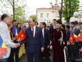 フック首相、ルーマニアを訪問中