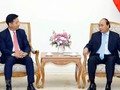 フック首相、イオンベトナムの代取会長と会見