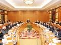 越共十三大文件起草小组第一次会议举行