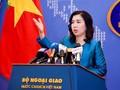 越南本着和平和尊重法律原则行使主权、主权权利和管辖权  维护国家领海完整
