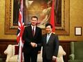 Pham Binh Minh achève sa visite en Grande Bretagne et en Irlande du Nord
