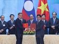 Vietnam-Laos: 6 nouveaux accords de coopération conclus en 2019