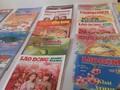 Zeitungen berichten über das Tetfest 2019