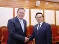 Leiter des KPV-Außenkomitees Hoang Binh Quan trifft Thüringer Ministerpräsident Bodo Ramelow