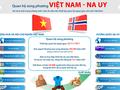 Förderung der Beziehungen zwischen Vietnam und Norwegen