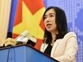 Chinas Untersuchungsschiff Haiyang Dizhi 8 hat die ausschließliche Wirtschaftszone Vietnams verlassen