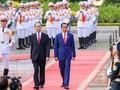 Panorama kunjungan Kenegaraan Presiden Indonesia, Joko Widodo di Viet Nam