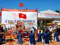 "Kabupaten pulau Ly son mengadakan acara ""Khao le the linh Hoang Sa"""