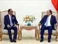 PM Vietnam, Nguyen Xuan Phuc menerima Menteri Luar Negeri dan Kerjasama Timor Leste, Dionisio Babo Soares
