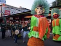 Lambang budaya Ondel-Ondel memenuhi jalan - jalan menjelang hari berdirinya Kota Jakarta
