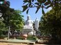 Пагода Тхиенан во время поста