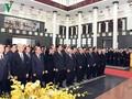 Tổ chức trọng thể Lễ truy điệu nguyên Tổng bí thư Đỗ Mười