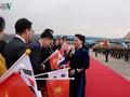 Chủ tịch Quốc hội thăm ĐSQ Việt Nam và gặp gỡ kiều bào tại Hàn Quốc