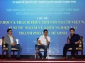 Đối thoại giữa lãnh đạo các sở, ngành của Thành phố Hồ Chí Minh với doanh nghiệp kiều bào