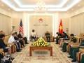 Việt Nam và Hoa Kỳ thúc đẩy hợp tác khắc phục hậu quả chiến tranh, đảm bảo an ninh, an toàn hàng hải