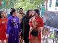 Istri Presiden Indonesia, Ibu Iriana Joko Widodo mengunjungi Museum Wanita Vietnam
