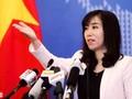 Jumpa pers periodik Kemlu Vietnam bulan Oktober
