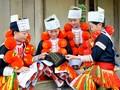 Upacara  Phua Chuong dari warga etnis minoritas Dao merah di Provinsi Yen Bai-Vietnam Utara