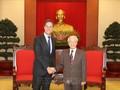 Sekjen KSPK, Presiden Vietnam, Nguyen Phu  Trong menerima PM Kerajaan Belanda, Mark Rutte