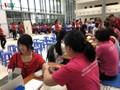 """2018年""""感恩的热血""""献血日暨红色行程出征仪式举行"""