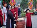 Народное пение «соан» создает особую атмосферу  на празднике Храма королей Хунгов