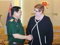 Министр обороны СРВ Нго Суан Лить принял главу МИД Австралии Марис Пейн