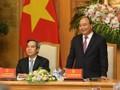 Thủ tướng gặp mặt các đại biểu dự Diễn đàn cấp cao 4.0