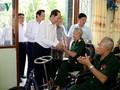 Chủ tịch nước thăm Trung tâm điều dưỡng Thương binh và Người có công Long Đất, tỉnh Bà Rịa -Vũng Tàu