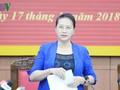 Chủ tịch Quốc hội Nguyễn Thị Kim Ngân thăm và làm việc tại tỉnh Thái Bình
