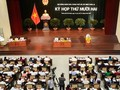 Khai mạc kỳ họp Hội đồng nhân dân Thành phố Hà Nội và Thành phố Hồ Chí Minh