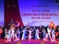 Hoạt động kỷ niệm 70 năm Ngày thành lập Quân đội nhân dân Lào