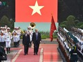 Chủ tịch nước Trần Đại Quang qua ống kính phóng viên VOV