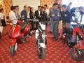Presentan las primeras motos eléctricas inteligentes de Vietnam