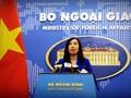 Vietnam llama al acatamiento de las leyes internacionales y solución pacífica de disputas en el Mar Oriental
