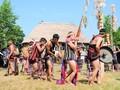 Melodías de tambores y gongs en la comunidad de los Co Tu