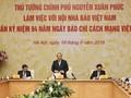 Alaban aportes del sector mediático vietnamita y sus trabajadores