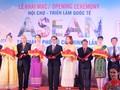 Khai mạc Hội chợ triển lãm quốc tế ASEAN 2018 tại thành phố Hồ Chí Minh