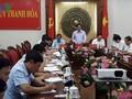 Trưởng Ban tổ chức Trung ương Phạm Minh Chính thăm và làm việc tại tỉnh Thanh Hóa