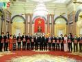 Chủ tịch nước Trần Đại Quang: Phục vụ tốt nhất lợi ích quốc gia - dân tộc và sự phát triển bền vững