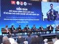 Diễn đàn đối thoại chính sách cấp cao về hệ sinh thái khởi nghiệp đổi mới sáng tạo