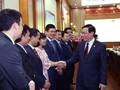 Phó Thủ tướng Vương Đình Huệ thăm, làm việc tại Ủy ban Quản lý vốn Nhà nước tại DN, Agribank, và VNPT