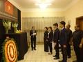Đại sứ quán Việt Nam tại Bangladesh tổ chức Lễ viếng và mở Sổ tang nguyên Tổng Bí thư Đỗ Mười