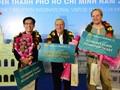 Thành phố Hồ Chí Minh đón vị khách quốc tế thứ 7 triệu trong năm nay