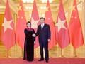 Chủ tịch Quốc hội hội kiến Tổng Bí thư, Chủ tịch nước nước CHND Trung Hoa