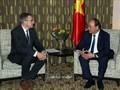 Prime Minister Nguyen Xuan Phuc receives former Belgian FM