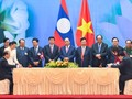 Vietnam, Laos sign 6 cooperative agreements