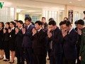 Tribute-paying ceremony for former Party Chief Do Muoi held in UN, Japan, Australia