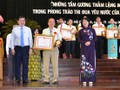 HCMC honors people doing good deeds