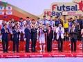 ปิดการแข่งขันฟุตซอลระดับประเทศ HDBank Cup ปี2018